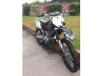 Smc YB 250 full size motor cross bike