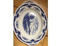 Classic vintage serving plate