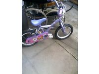 girls bike 4-6yrs