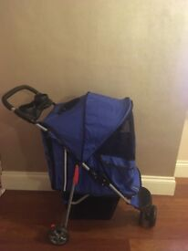 Baby stroller (hardly used)