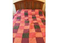 Patchwork style quilt