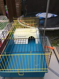 Small rabbit/ guinea pig indoor cage