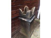vintage, victorian chimney pot, ideal for the garden