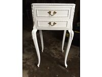 Louis Style Shabby Chic Bedside Tables