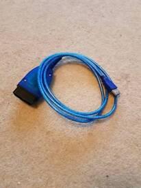 OBD 2 car diagnostic usb cable