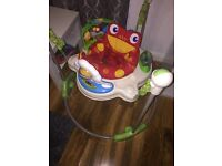 Fisher Price Jumperoo Baby Bouncer Excellent Condition