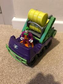 Imaginext Joker Vehicle & Figure