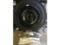 space saver wheel and tyre to fit nissan qashqai