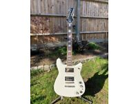 Epiphone Wilshire Special Edition Custom Shop, Arctic White 2008 with Hard Case