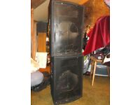 Speaker cabs for PA