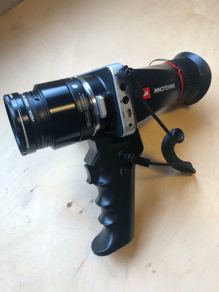 Bmpcc Black Magic Pocket Cinema Camera Full Rig Including Lens And Batteries