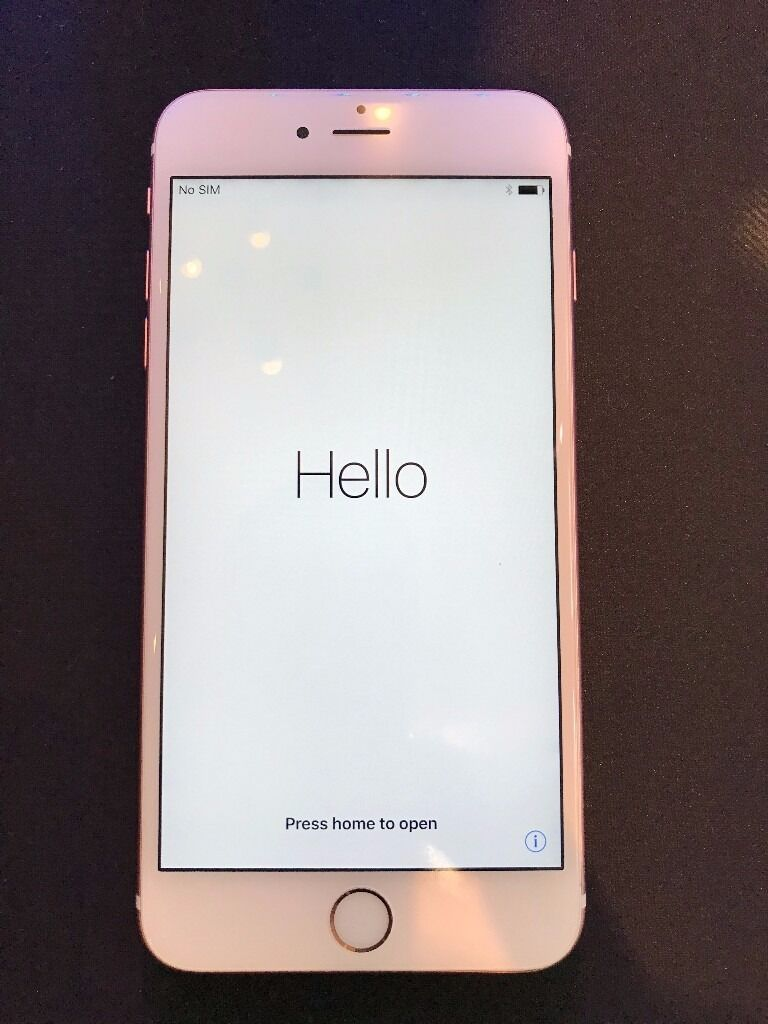 iPhone 6s PlusRose Gold, Unlockedin Abingdon, OxfordshireGumtree - Apple iPhone 6s Plus in Rose Gold, unlocked to any network, 16GB storage. In excellent condition and perfect working order. Includes all original accessories, packaging, the Leather Apple iPhone Cover and a colourful octopus cover. Collection only,...