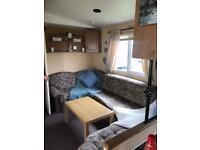 Caravan to let at Whitley bay holiday park