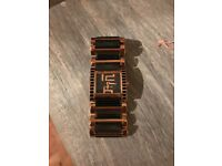 Ladies Police Watch black and rose gold