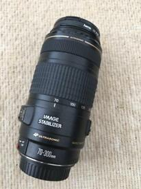 Canon IS 70-300mm Lens