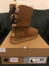 UGG BAILEY BOW BOOTS AND BUTTON BOOTS FOR SALE. BRAND NEW