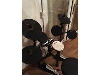 Used Carlsbro Electric Drum Kit