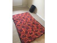 2no large sleeping bags