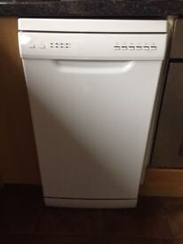 White Slimline Dishwasher for sale - only 2 years old in great working order