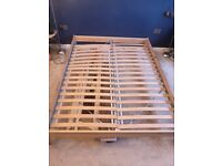 King size wooden double bed frame