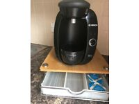 Bosch Tassimo Coffee Machine and pod tray