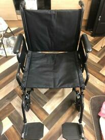 Bariatric Steel Wheelchair
