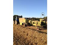 Class Quadrant 1150 Rc Baler with Bale Accumulator
