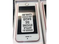 IPHONE SE 64GB UNLOCKED ROSE GOLD