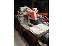 Clipper major table saw