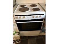 Amica electric cooker only just over a year old