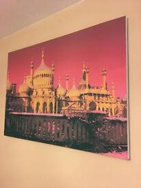 Brighton Pavilion canvas painting