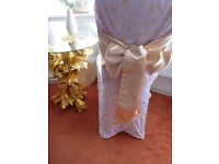 Lovely satin chair decoration bow was £2 each 100 for £100