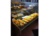Serving counter fridge Cake display
