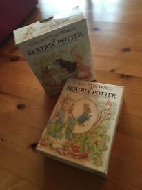 BEATRIX POTTER COLLECTION 1988 Illustrated Box SETs - 2 sets of 4 books each