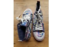 Rocket dog sneakers. Brand new never worn. Size 6. Multi colours. Perfect for summer
