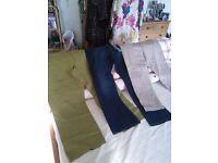 Trousers, 3 pairs, unworn.