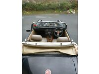 MG Midget 1500. Dry stored for 10 years. In same family for 15 years.