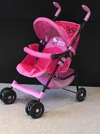Hello Kitty Child's Pushchair