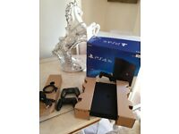 NEW BOXED PS4 PRO 1TB. 2 DUAL SHOCK CONTROLLERS. GAMES