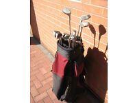 Golf Clubs Set & Bag