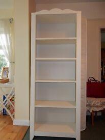 Ikea bedroom furniture: chest of drawers, lge & sml bookshelves, dressing table, wall unit/shelf