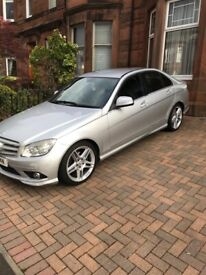 SPOTLESS MERCEDES BENZ C CLASS WITH FULL S/H 1 OWNER