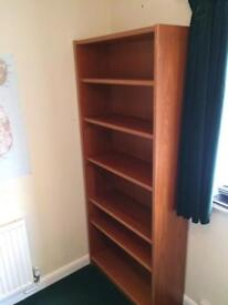 Solid wood Book case - £35