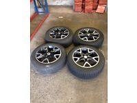 4 Complete tyres and wheels fit volvo xc60 or similar