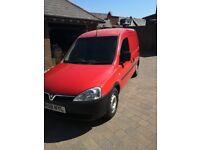 Very low miles cheap van 2008 Vauxhall combo 1.3cdti Royal mail NO VAT