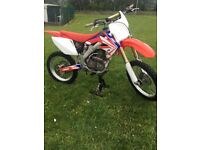 Road registered Crf 250 May swap ,crf 450 kxf 450 250 2 stroke