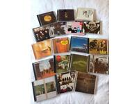 18 CDs for sale