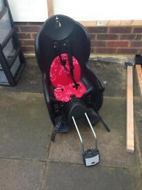 Toddler seat for bike