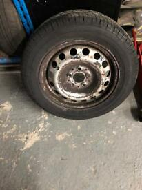 Mercedes Vito used steel with new tyre