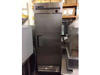 TRUE Upright Fridge Stainless Steel EU35